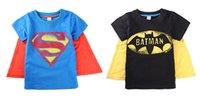Cheap superman t shirt kids Best superman t shirt cape