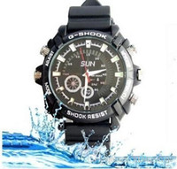waterproof camera - Real HD p Waterproof Spy hidden Watch Camera spycam DVR GB Night Vision body camera