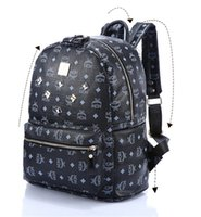 free shipping designer handbags - Fashion Designer Women Bag Messenger bag PU Leather Handbag Famous Shoulder bags Handbags Totes Purse Flower Backpack MCM