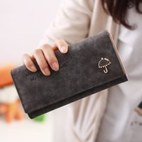 best photo umbrella - 2015 Brand Designer Women Wallet Bags Best Umbrella Leather Button Clutch Purse Lady Long Handbag Bag Colors For Woman