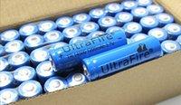 Wholesale UltraFire Battery V mAh Rechargeable Li ion Batteries for led mini flashlight sk68