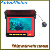 Wholesale 20M quot TFT Underwater Fishing Camera System HD TV Lines Underwater Camera with Record