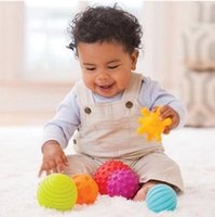 baby softball - baby grasping toys the ball baby massage tactile perception soft ball fitness ball early childhood toy softball toy