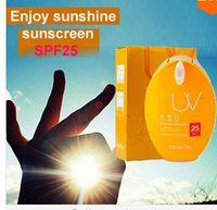 Wholesale Sun Block Sunscreen Lotion Water Protein Whitening amp Sun Blocking Emulsion Enjoy sunshine SPF25 PA sunblock ml