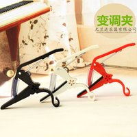 Wholesale 2015 new arrival Folk Acoustic Electric Tune Quick Change Trigger Guitar Capo Key Clamp Z00241