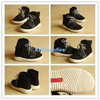 child boots - 2015 Hot Sale Kanye West Yeezy Boost Black Fashion Children Shoes Boys And Girls Shoes Casual Sneakers Kids Shoes Sneakers