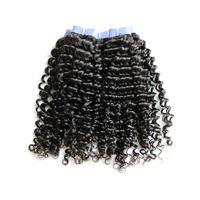Cheap peruvian human hair Best deep curly bundles with closure