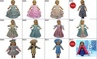Wholesale Free DHL Hot and New Doll Clothes Fit quot American Girl Doll Doll Dress Party Dress Girl Birthday Present Xmas Gift