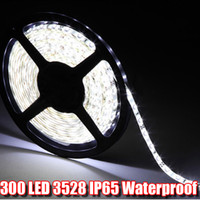 Wholesale 5m Led Strip Lights Top Waterproof IP20 IP65 IP66 IP67 SMD3528 V Flexible led Strip bar Waterproof LED Tape Lamp Luminaria Lighting