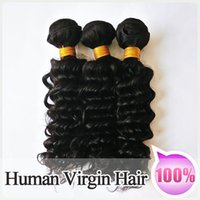 remy hair deep wave - 100 Peruvian Virgin Hair G Peruvian Deep Wave Remy hair NO tangle no shedding a Human hair