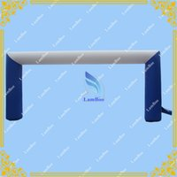 Wholesale Blue and White Inflatable Blow Up Arch for Events UL CE certificated Blower Included