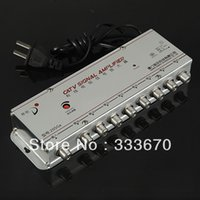 aerial distribution - 8 Way Distribution Box CATV TV Aerial Signal Amplifier Booster Radio Splitter