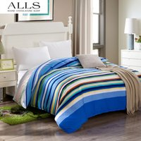 Wholesale cotton single double duvet cover Twin size gray duvet bed cover in blue
