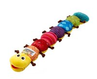 Wholesale Hot New Lamaze Musical Inchworm Baby Toys Singing Plush Garden Bugs plush baby toys Educational toy Funny Christmas Xmas Gift