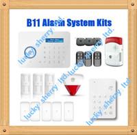 Wholesale Custom Quote Chuango B11 Smart Home Dual network PSTN and GSM burglar Security Alarm System