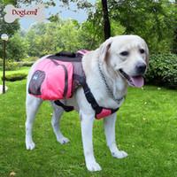 Wholesale MOQ PC DogLemi Foldable Pet Saddle Bag Outward Hound Travel Camping Hiking Dog Back Pack
