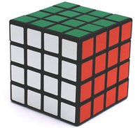 Wholesale 4X4X4 Sengshou Magic ABS Ultra smooth Professional Speed Cube Rubik s Puzzle Twist Smooth PVC Paster x6 x6 cm