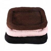 Wholesale Best Promotion Soft Plush Pashm Dog Puppy Pet Cat Warm Slumber Sleep Crate Mat Bed Kennel Pad