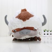 avatar sales - 50pcs HOT SALE Official AVATAR Last Airbender APPA Stuffed Plush Doll Large Soft Toy inch packed in opp bag