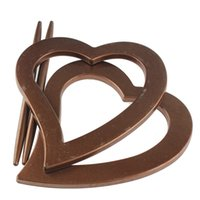 Wholesale Classic Curtain Drape Tieback Hook Clamp Love Heart Choco Insert Ring Plug