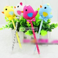 beauty chicks - Cute Cartoon Chick Shape Ballpoint Pen Fancy Beauty Fashion Creative Stationery school supplies