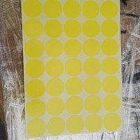 Wholesale New Fashion mm Circle Color Coded Label Dot Sticker Inventory Code