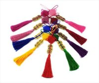 Wholesale Chinese Handmade Knot Handbag Strap Charm With Coins