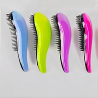 Wholesale 10 Hair Brush Fashion Detangling Handle Shower Hair Brush Comb Salon Styling Tamer Tool