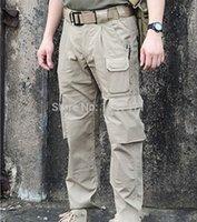 Wholesale Windtalker Tactical Pants Mens Military Pants Multi pocket Work Trekking Sport Pants Waterproof Aairsoft Paintball Army Trousers