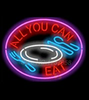 air diet - All You Can Eat Diet Catering Shop Neon Sign Commercial Avize Outdoor Nikke Air Jorrdan Neon Signs Glass Tube Handicraft