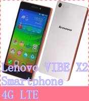 Wholesale Lenovo VIBE X2 Smartphone G LTE MTK6595 Octa Core GB RAM GB ROM Inch FHD Screen Android OS Dual SIM Card GHz IPS WIFI