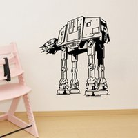 Removable armored movie - Star Wars Wall Stickers All Terrain Armored Transport Home decor DIY creative Removable Bedroom living room Stickers wall decal