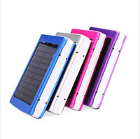 Wholesale 30000mAh Dual USB Portable Solar Panel Battery Charger Power Bank for Smart Phone Laptop Camera