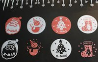 Wholesale Hot Sales Styles Three diamension Foam Christmas Window Stickers Santa Claus Tree Snowman Shop Window Stickers Home Décor Party Decoration