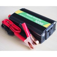 110V dc ac converter 12v 110v - DHL W Car Power Inverter W DC V to AC V power converter USB Car Charger