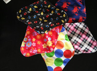 menstrual pads - 2015 New Arrival Bamboo Mama s Cloth Printed Menstrual Pads Liners Washable