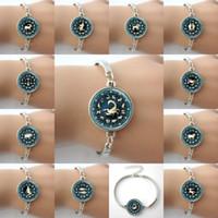 astrological virgo - Zodiac Jewelry Bracelets Astrological Symbol Ram Aug Birthday Astrology Art Pendant bangles Aries Capricorn Leo Libra Virgo