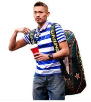 badminton rackets bags - Lindan Lining Badminton Rackets Bag New Genuine Racquet Badminton Bag Li ning ABJJ048 Backpack L242