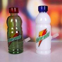 glass milk bottle - Bottle Appearance Glass Water Hookah Milk white Green Black Random Send Glass Water Bongs Without Accessories