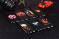 Wholesale 2015 For iphone plus cases Super hero cell phone cases styles spider man superman Captain America from bond50