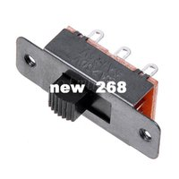 ac ss - 200 SS F19G5 Pin DPDT Solder Pin AC Slide Switch On Off A250V A125V Wholesell