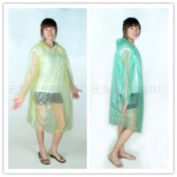 Wholesale 2015 Colorful Adults Plastic Disposable Hood Raincoats Emergency PE Poncho Rainwear Travel Rain Coat Rain Wear Gifts for Men Women DHL Hot