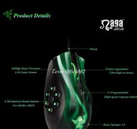 laptop pad - ew dpi Precision G Laser Sensor Mechanical Oxidation gilded Wired USB Gaming Mouse for Razer With a Original Mouse pad