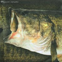 bass fishing tubes - Cheap Colorful Seamless Fish Pattern Outdoor Bandanas Fishing Tube Headwear Face Mask Bass Fish Head Scarf