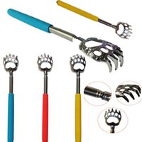 Wholesale 2015 New Bear Claw Telescopic The Ultimate Back Scratcher Extendable Nice Gift Christmas Gift LQL