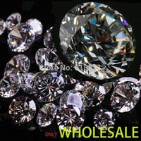 apparel rs - Manufacturer direct wholesale1mm A quality RS round brilliant Cubic Zirconia stone High end jewelry apparel Zircon