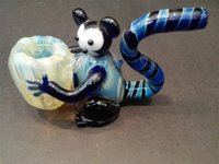 Glass author pipe - Glass pipes heat resistant glass manufacture Authors The monkey holding a glass pipe glass smoking pipes