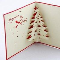 cedar - Living Christmas cedar cube three dimensional stereoscopic d Christmas card ideas handmade cards D Handmade Card D Pop UP Gift Greet