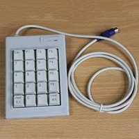 bank numeric - Bicyclic DX K A mechanical keyboard numeric keypad functions special notebook USB PS interface for bank