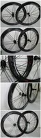 Wholesale The hot selling mm clincher carbon wheelset road C carbon fiber bicycle wheelset mm width carbon road bike wheelset